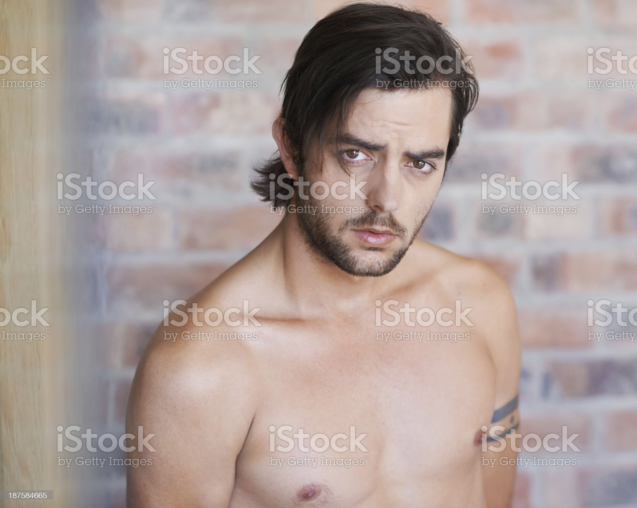 His cool is hard to hide royalty-free stock photo
