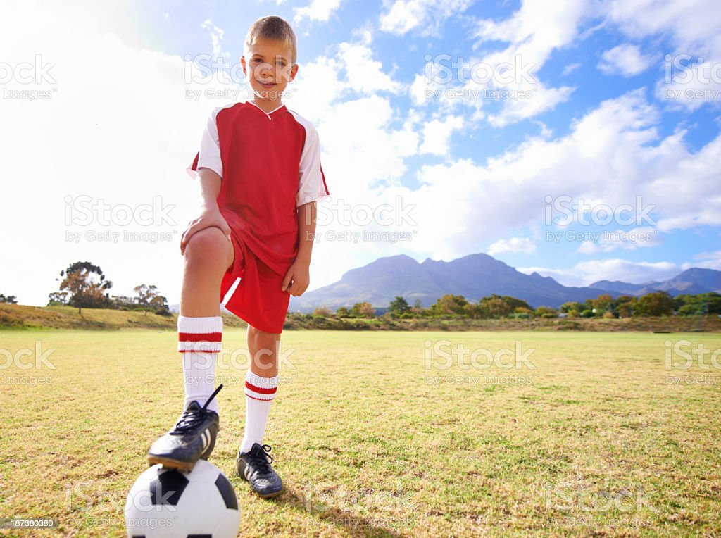 His favorite pastime royalty-free stock photo