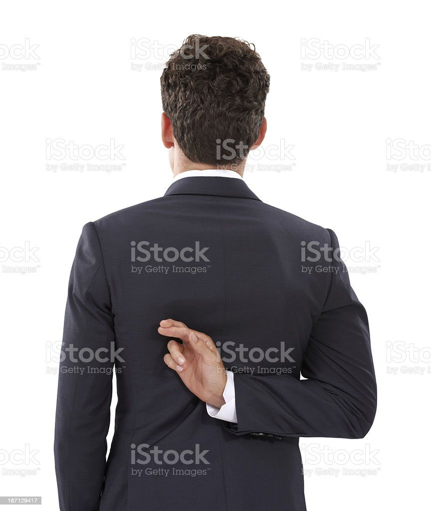 His intentions are not honorable royalty-free stock photo