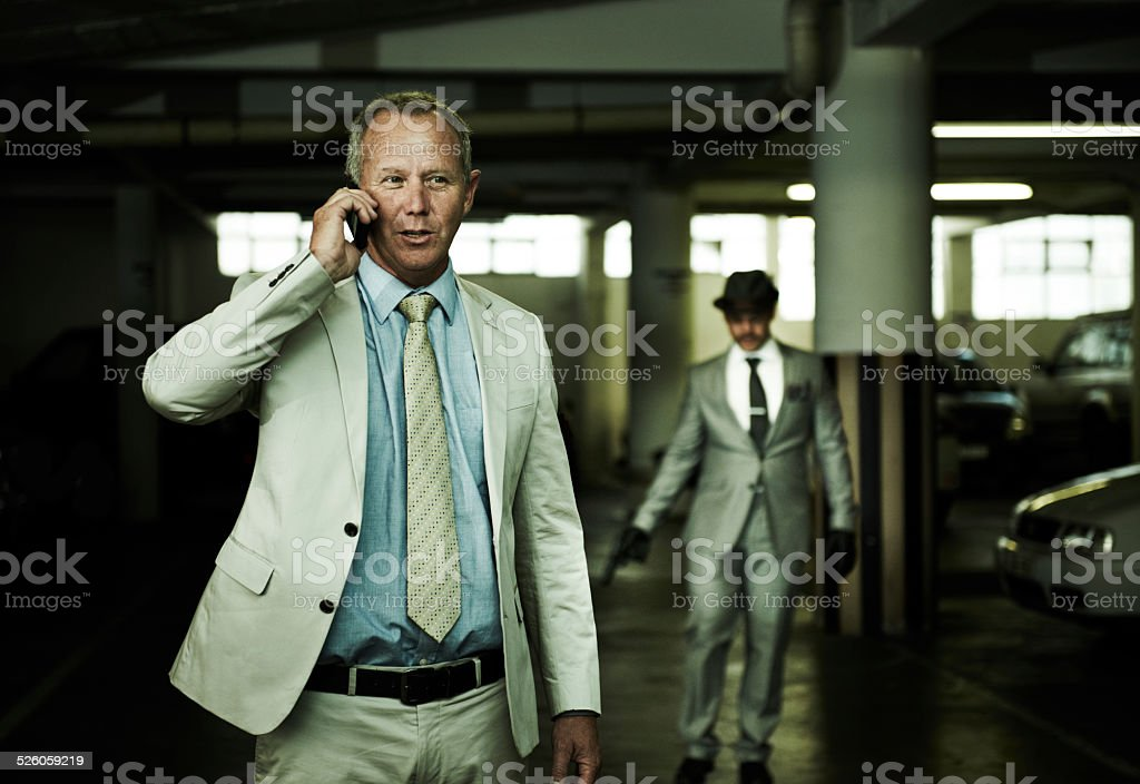 His life is about to change stock photo