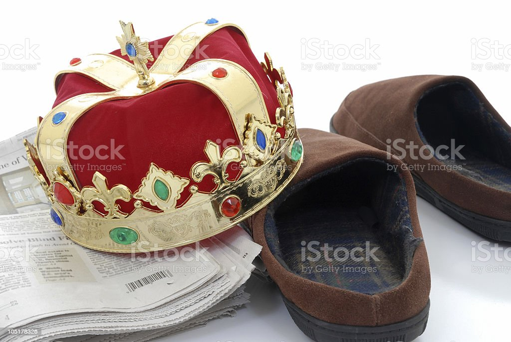 His Majesty royalty-free stock photo