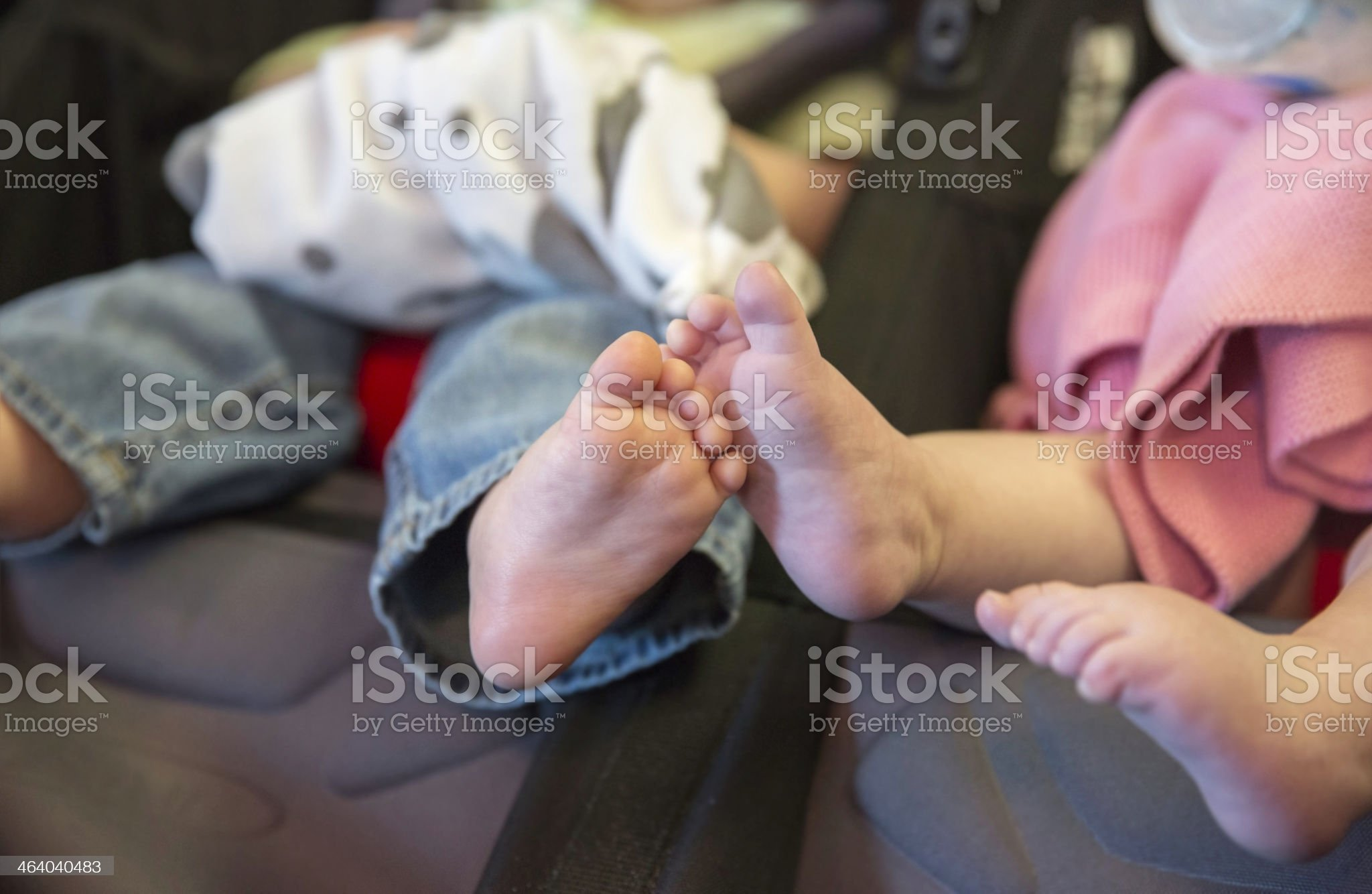 His 'N' Her feet royalty-free stock photo