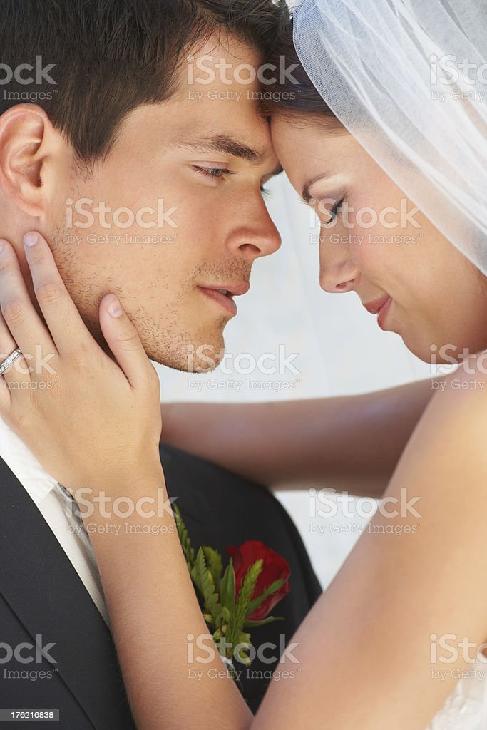 His one true love royalty-free stock photo