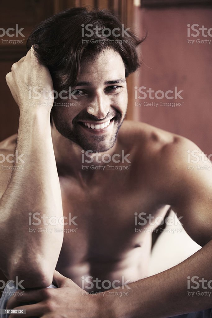 His smile is infectious! royalty-free stock photo