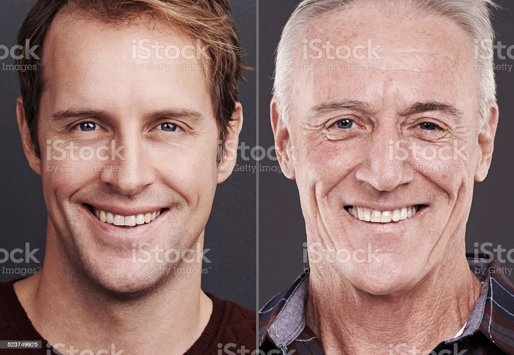 His smile will always be bright stock photo