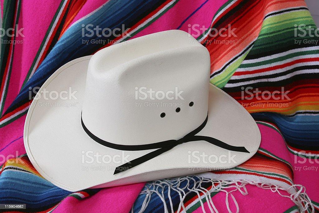 His White Hat royalty-free stock photo
