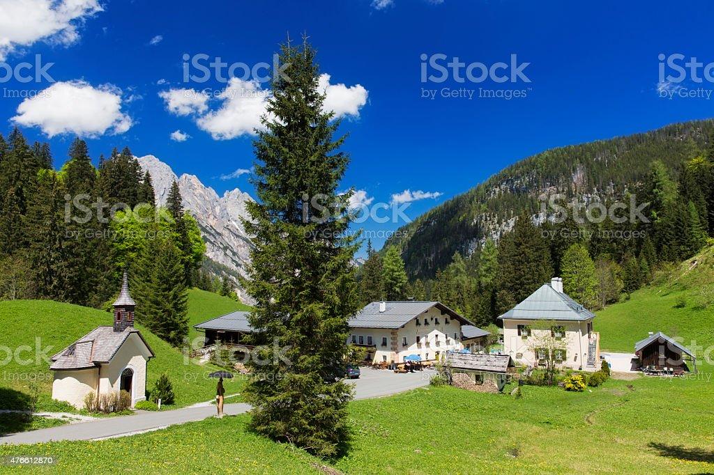 Hischbichl  - Nature Reserve  Berchtesgaden stock photo