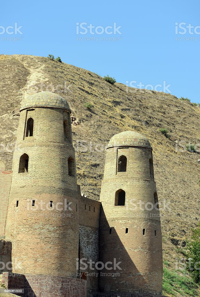 Hisor fortress, Tajikistan, Central Asia stock photo
