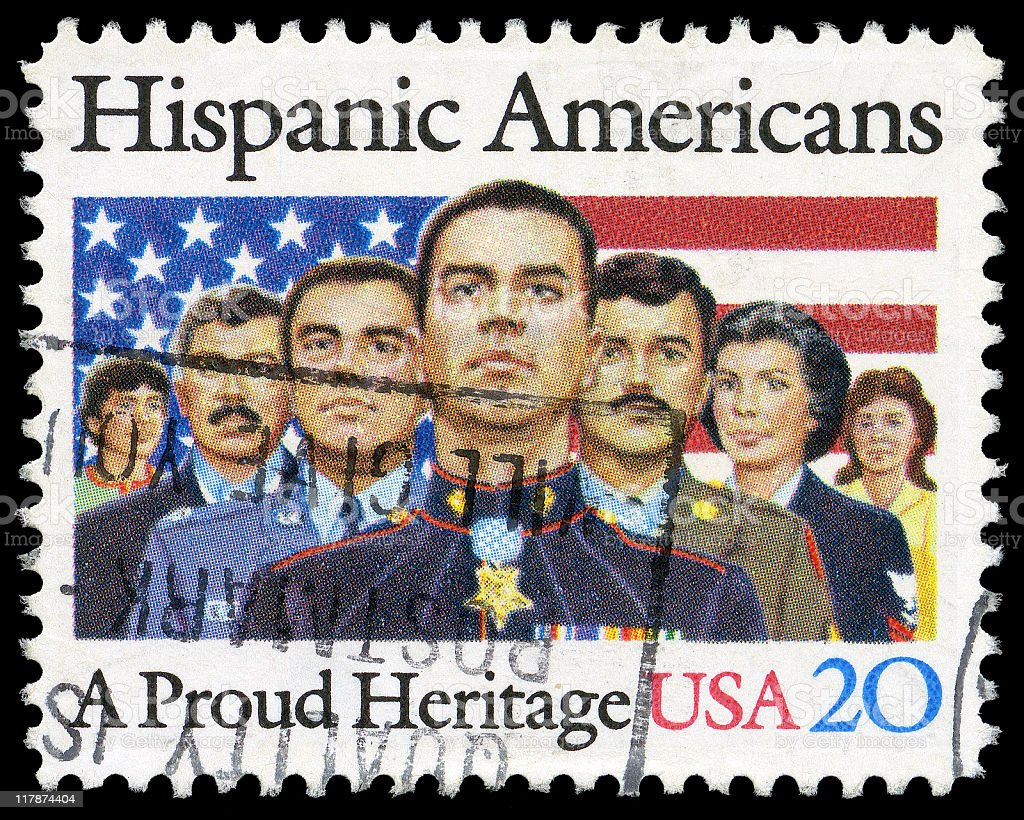 Hispanic Americans - A Proud Heritage royalty-free stock photo