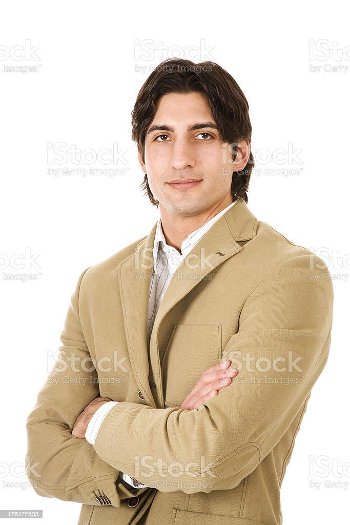 Hispanic business man royalty-free stock photo
