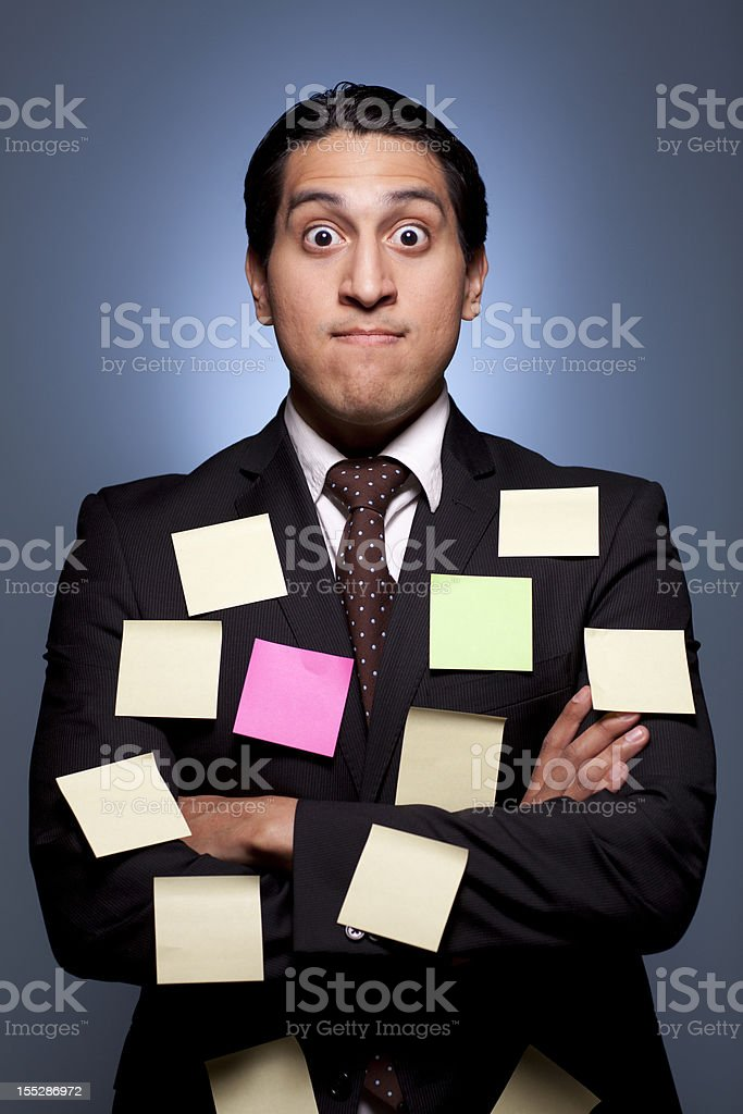 Hispanic Businessman royalty-free stock photo