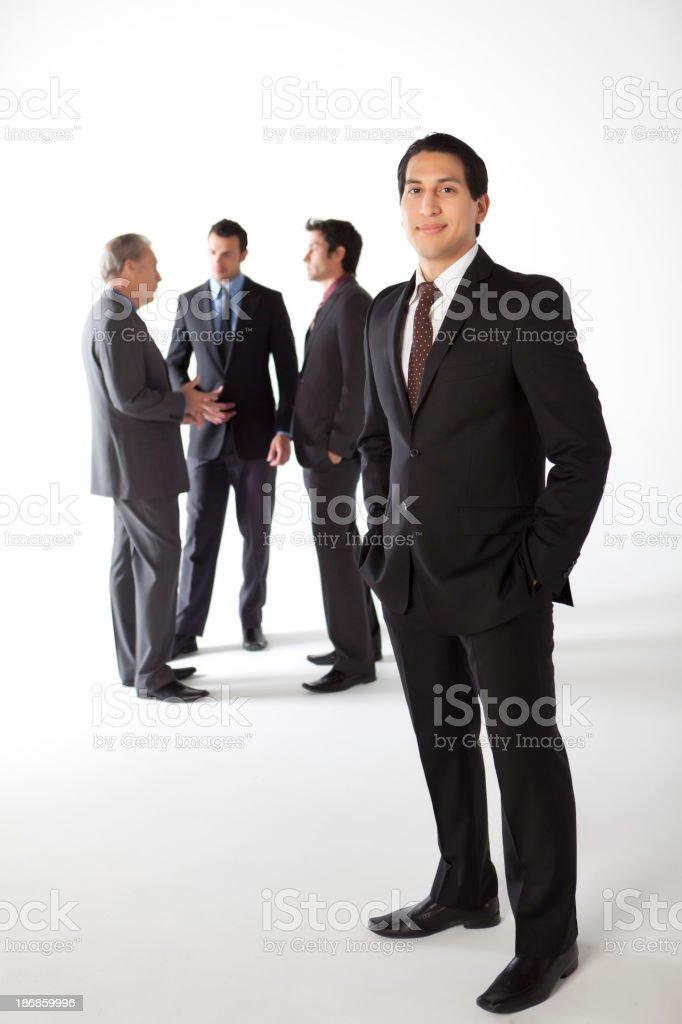 Hispanic Businessman royalty-free stock photo