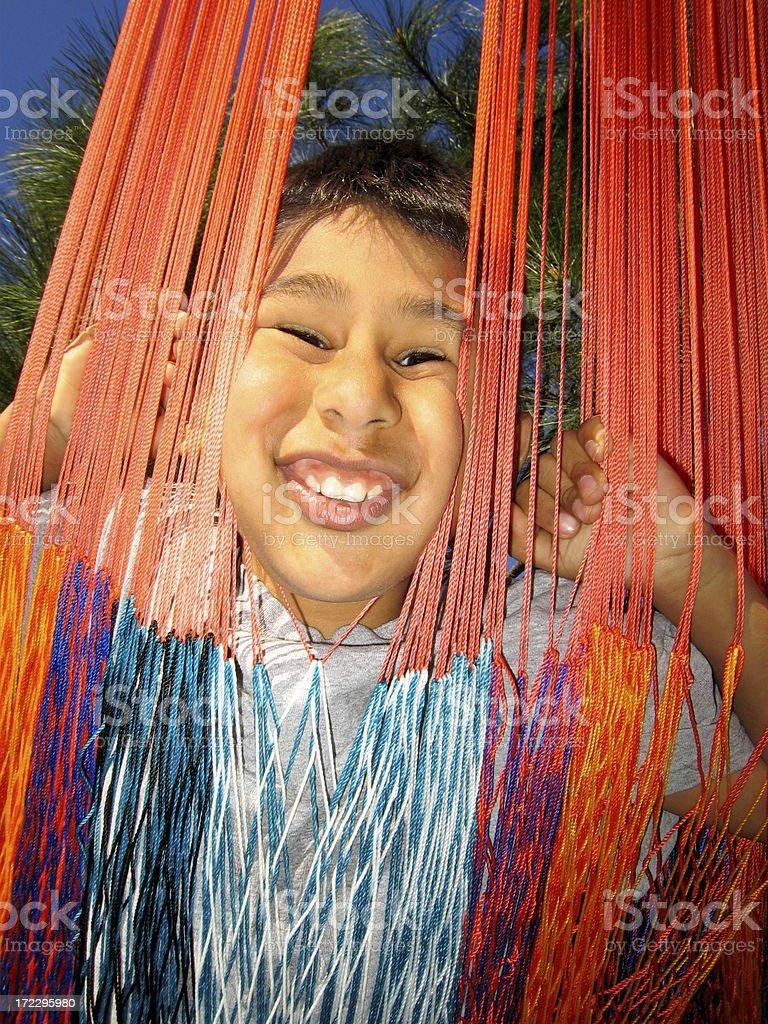 Hispanic Hammock stock photo