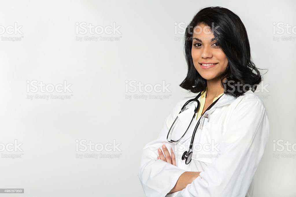 Hispanic Health Care Professional stock photo