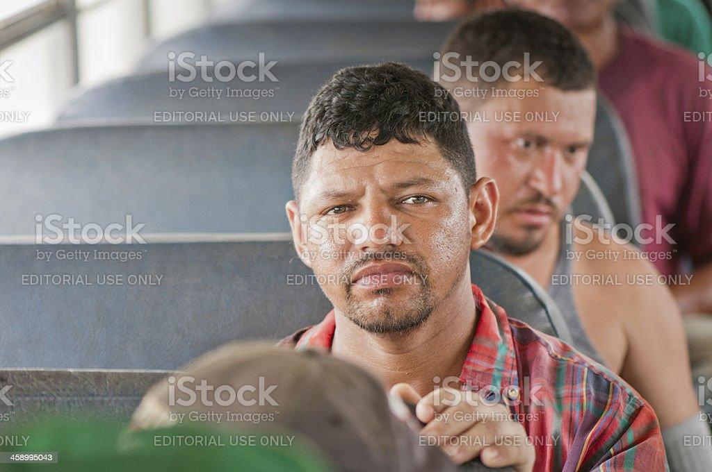 Hispanic labour in US Harvest stock photo