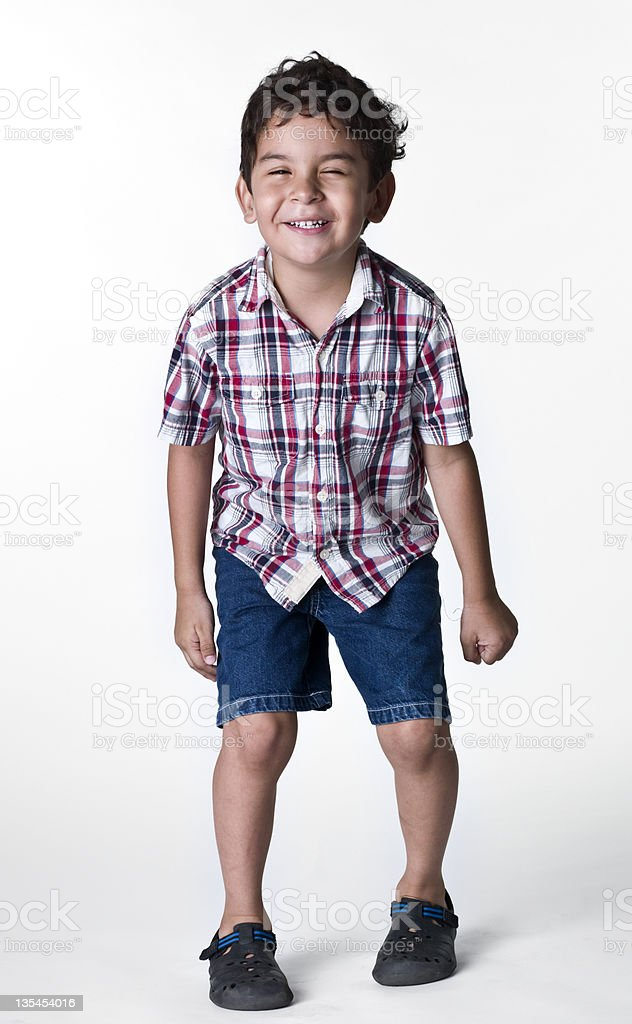 Hispanic little boy royalty-free stock photo