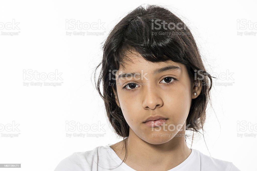 Hispanic little girl royalty-free stock photo