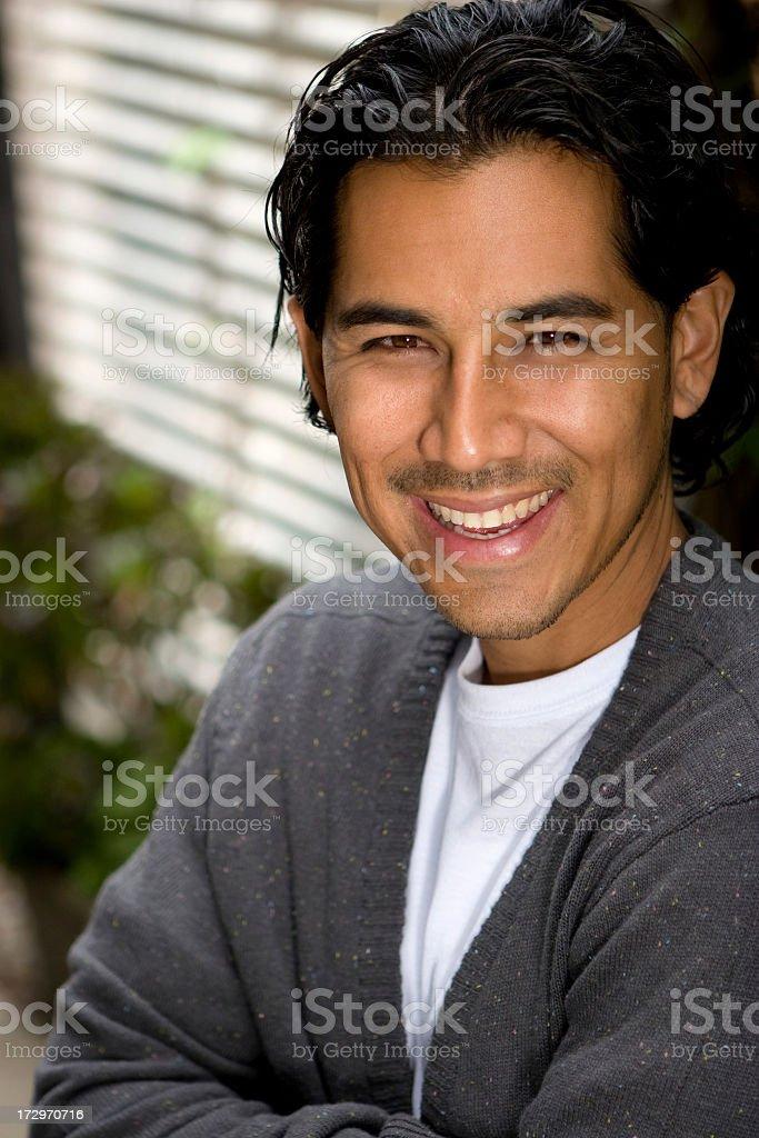 Hispanic Man royalty-free stock photo