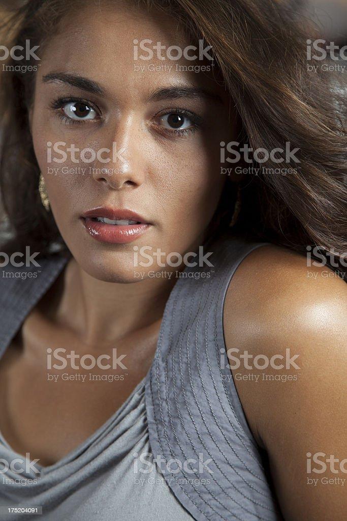 Hispanic Model royalty-free stock photo