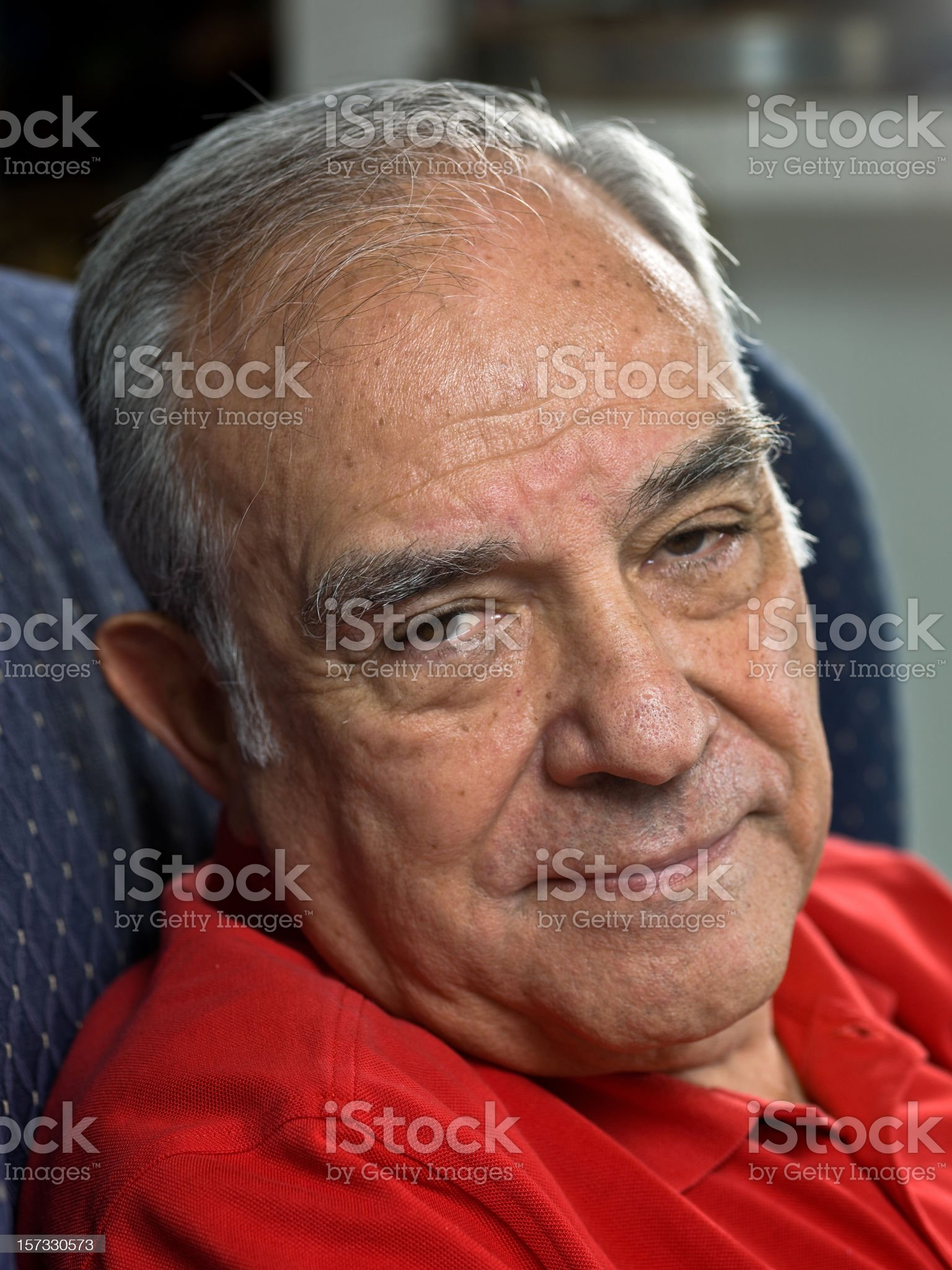 Hispanic senior Male royalty-free stock photo