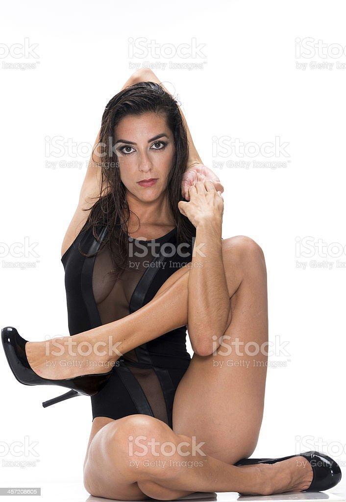 Hispanic Slim Woman stock photo
