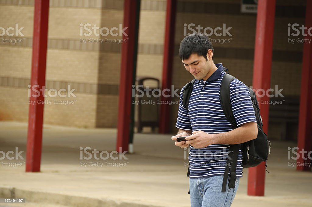 Hispanic Student royalty-free stock photo