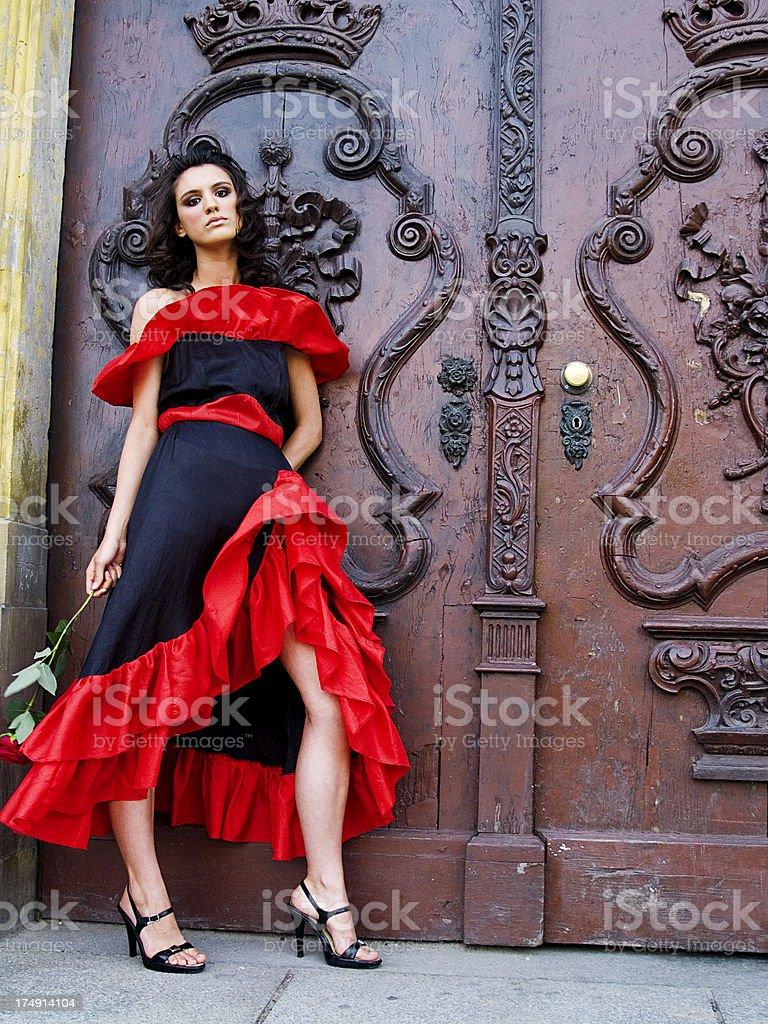 hispanic style royalty-free stock photo