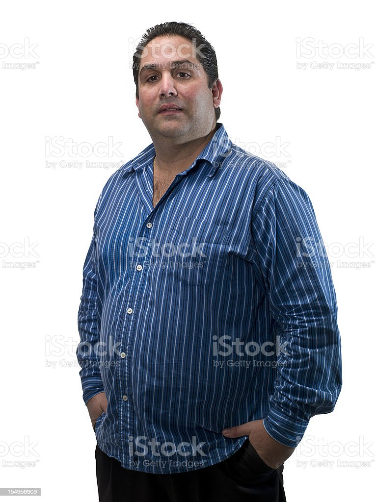 Hispanic thirty something man royalty-free stock photo