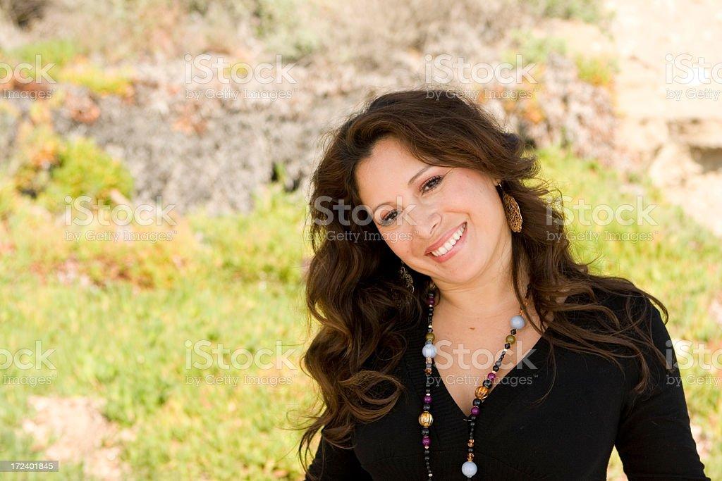 Hispanic Woman royalty-free stock photo