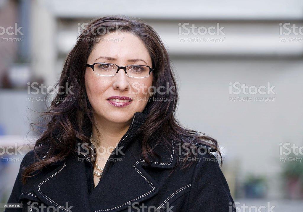 Hispanic Woman stock photo
