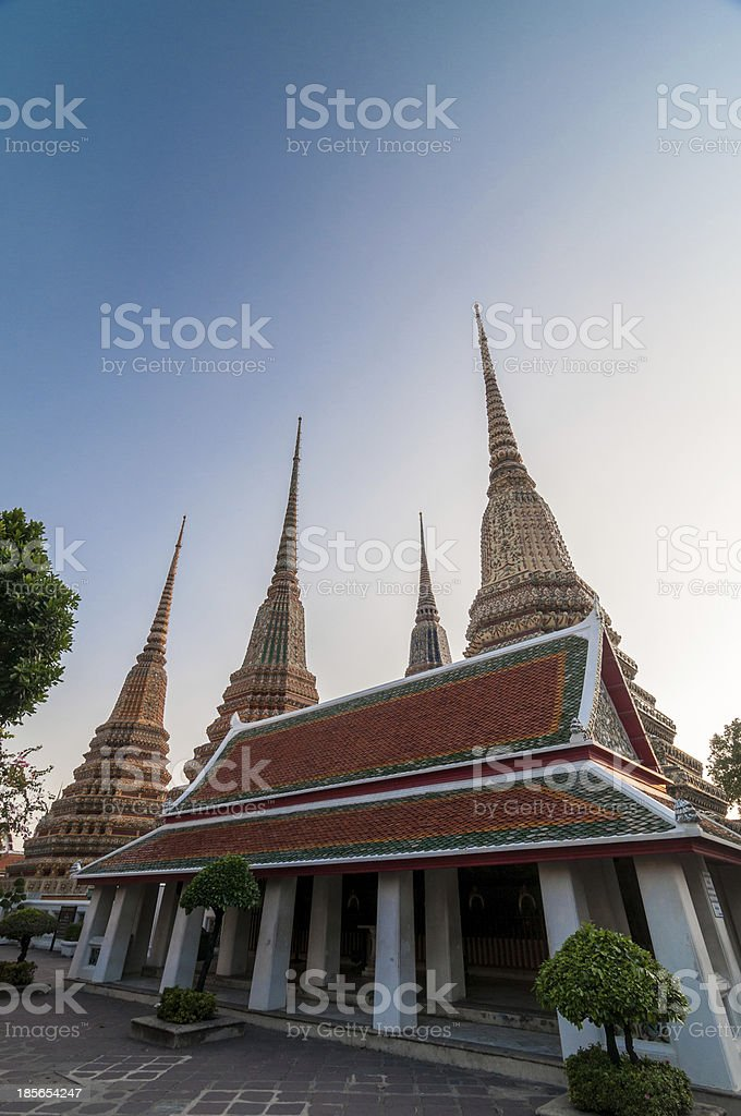 Histirical and culture legacy, Tample of Dawn stock photo