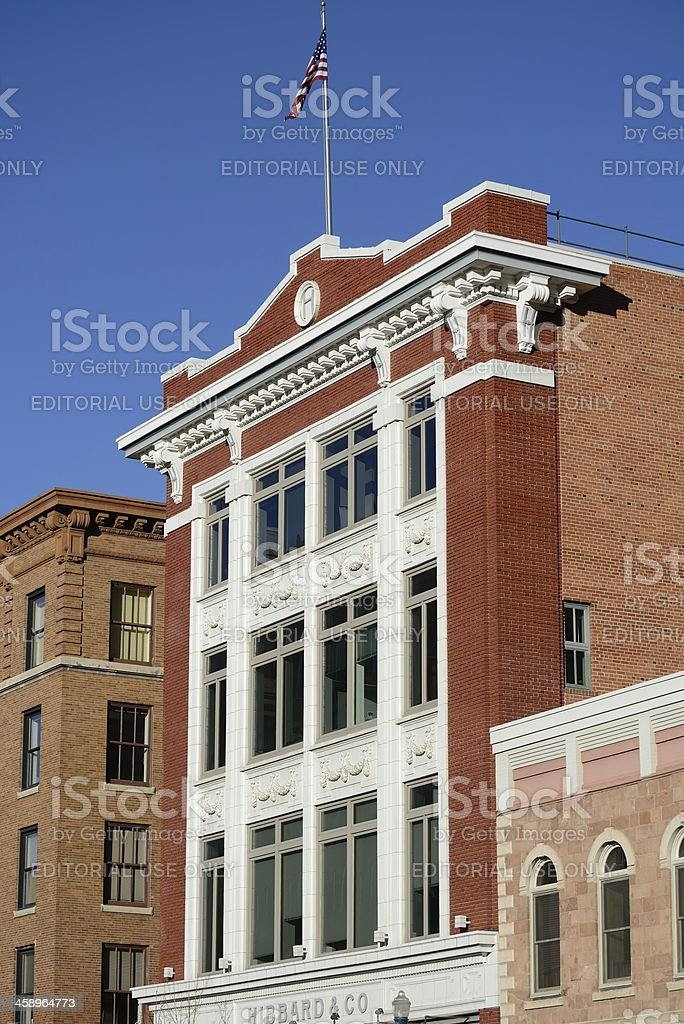 Historic Architecture, Colorado Springs royalty-free stock photo