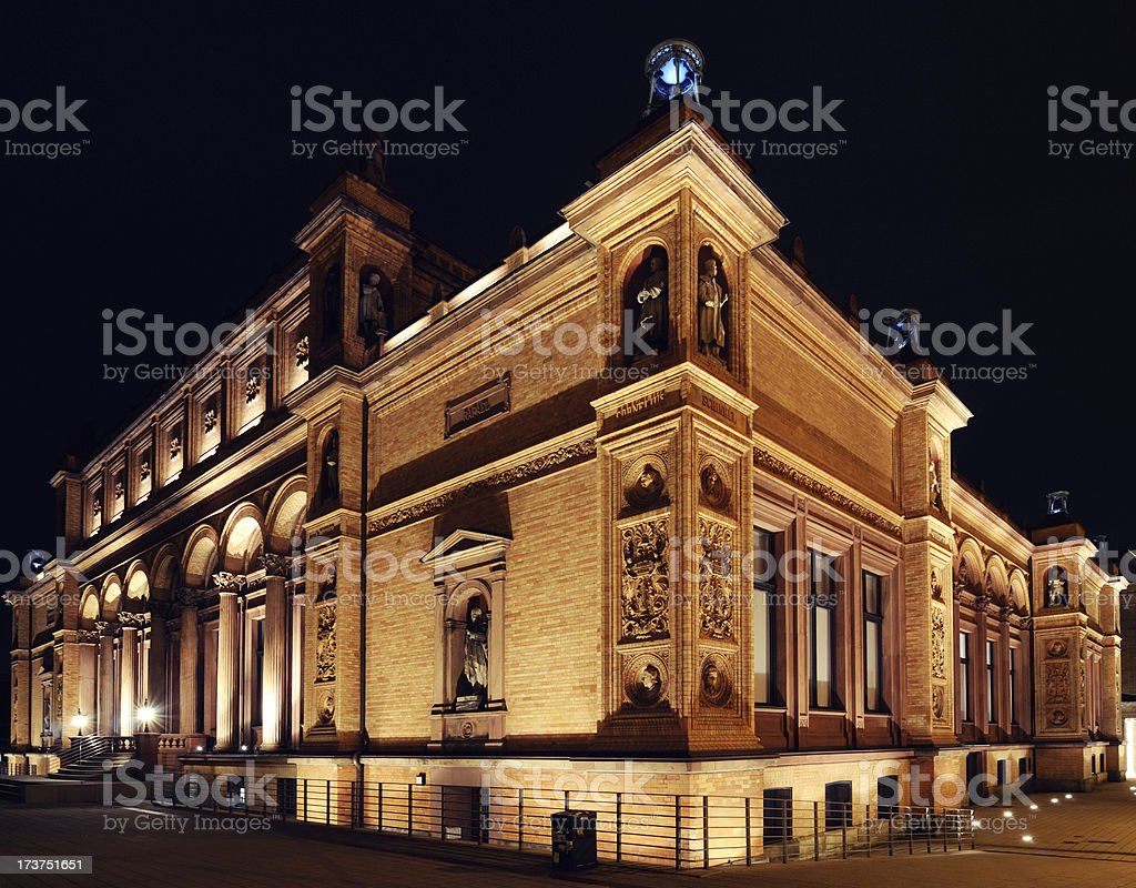 historic art museum stock photo