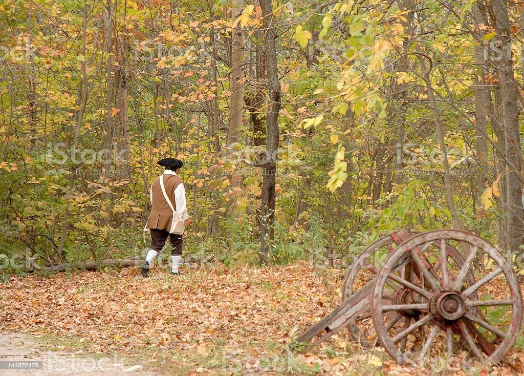 historic Autumn stock photo