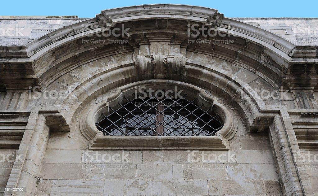Historic balcony renaissance royalty-free stock photo