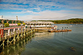 Historic Bar Harbor in Maine, USA