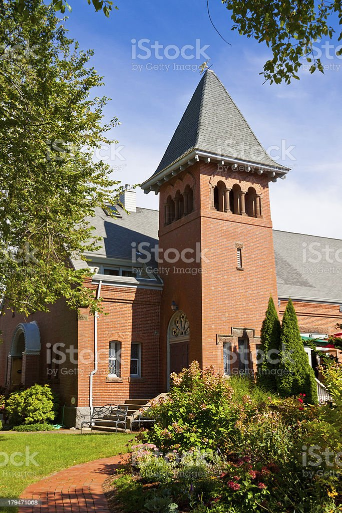 Historic Belfry in New England, Sandwich, Cape Cod, Massachusetts. royalty-free stock photo