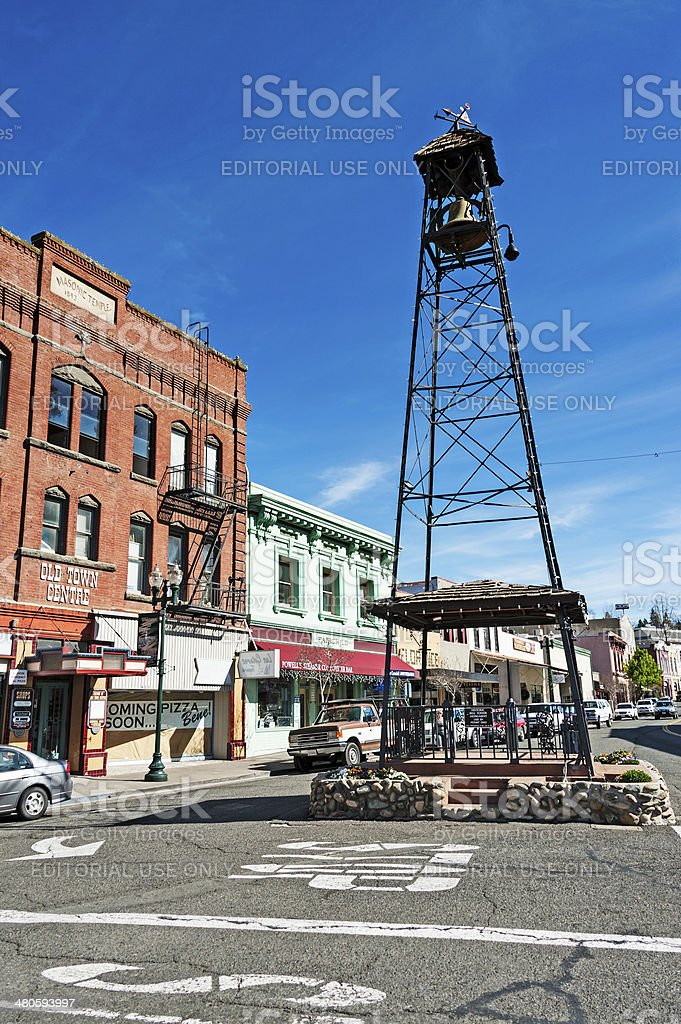 Historic Bell Tower stock photo