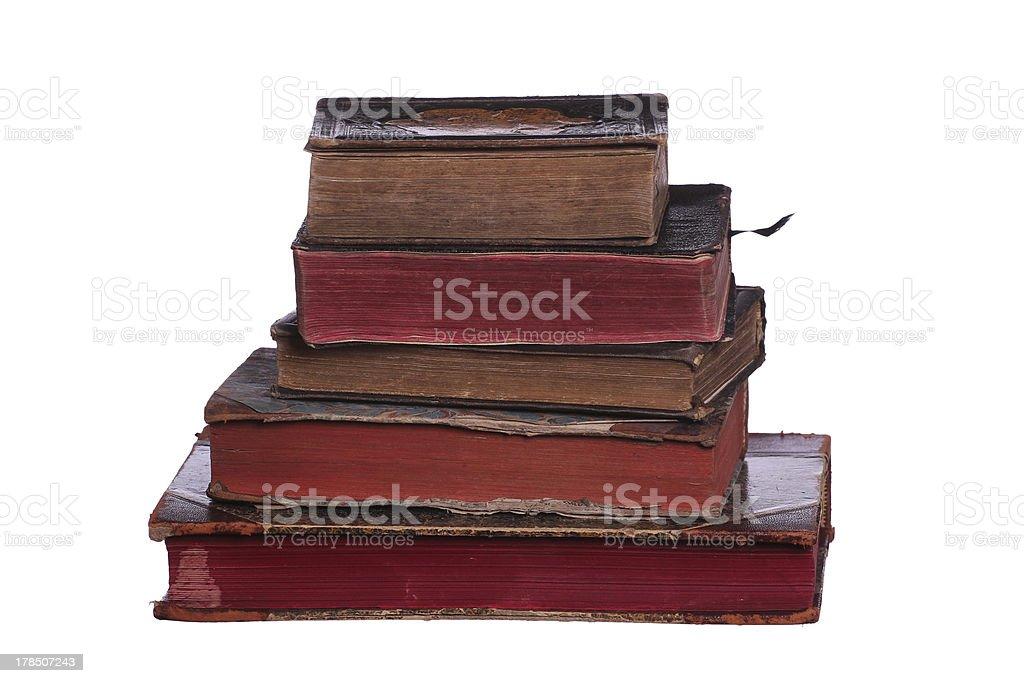 historic books royalty-free stock photo