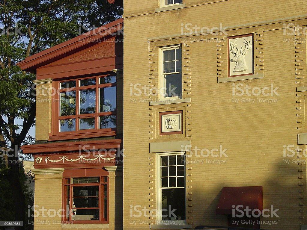 Historic Boulder,Colorado detail. royalty-free stock photo