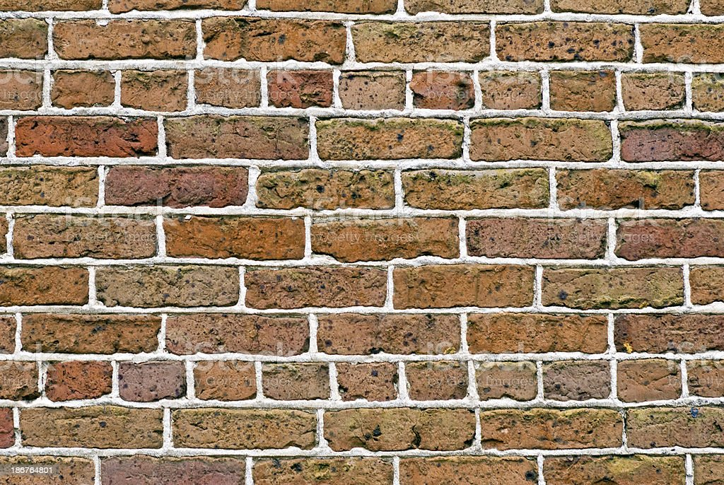 Historic Brick Wall Background royalty-free stock photo