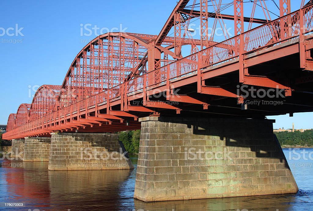 Historic Bridge stock photo