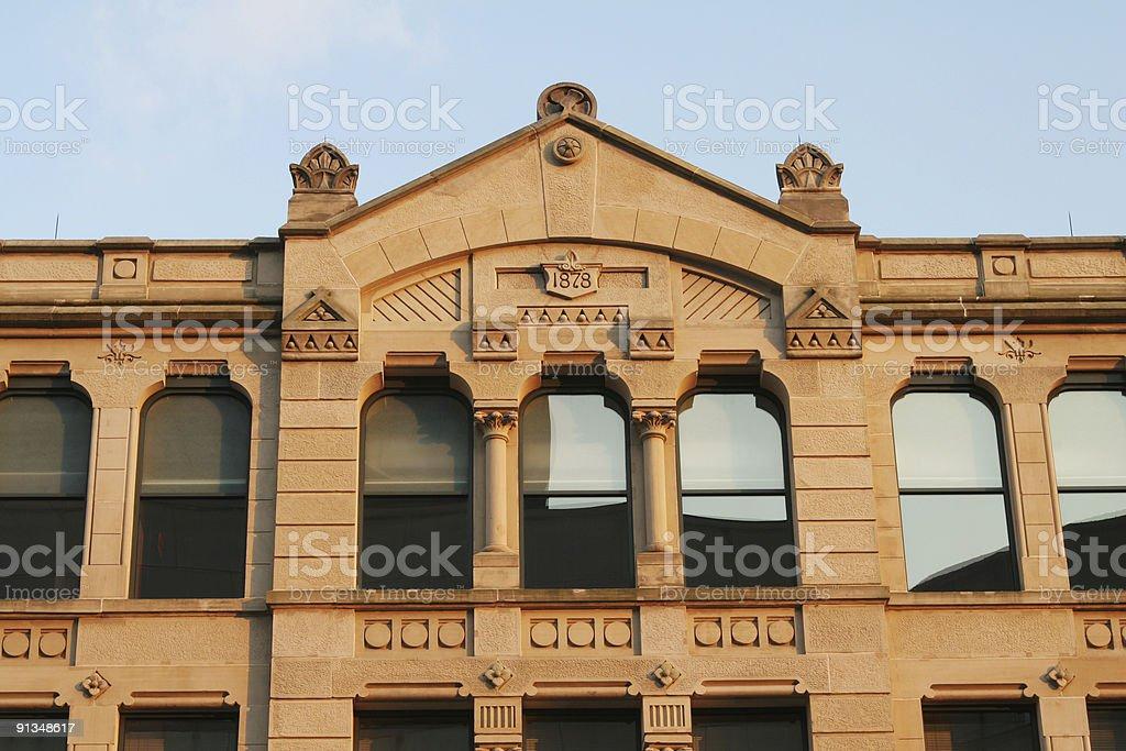 Historic Building, Dayton, Ohio stock photo