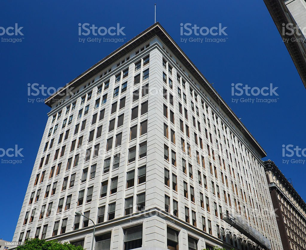Historic Building in Los Angeles royalty-free stock photo