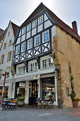 Historic building (dating 1533) in Osnabruck