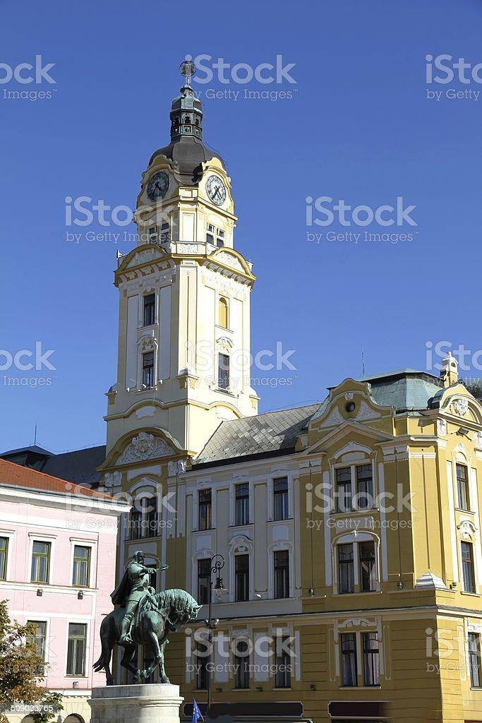Historic building in Pecs stock photo