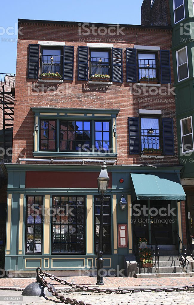 Historic building royalty-free stock photo