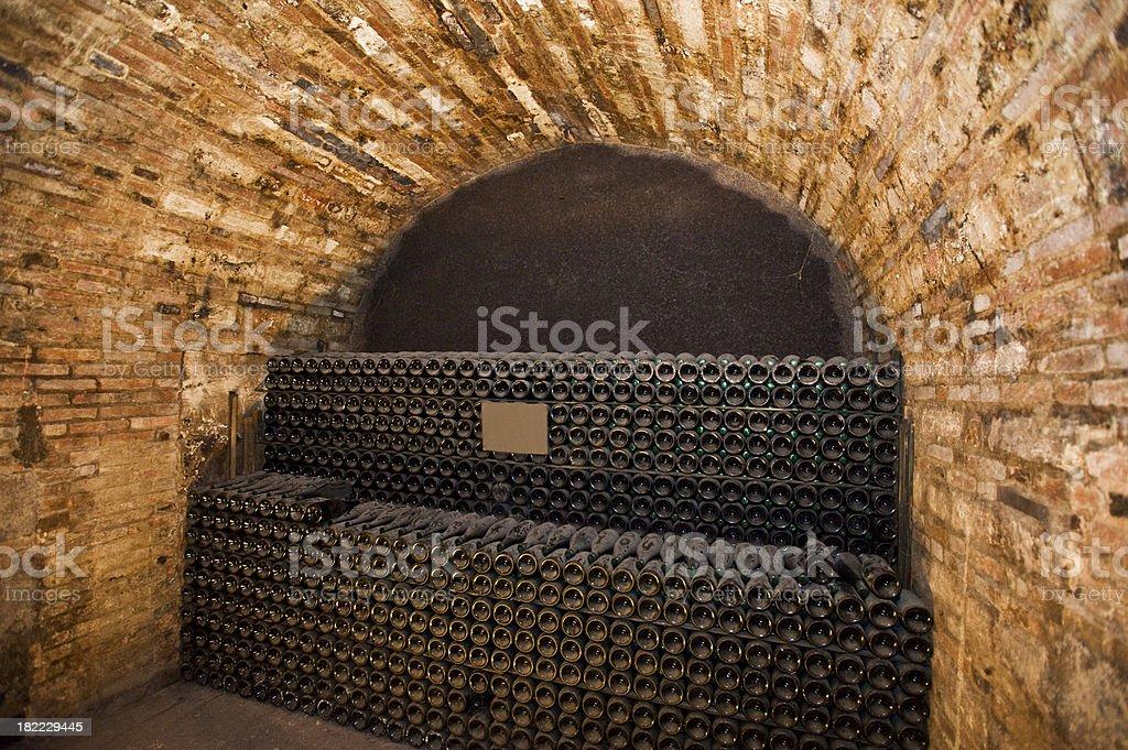 Historic Cellar stock photo