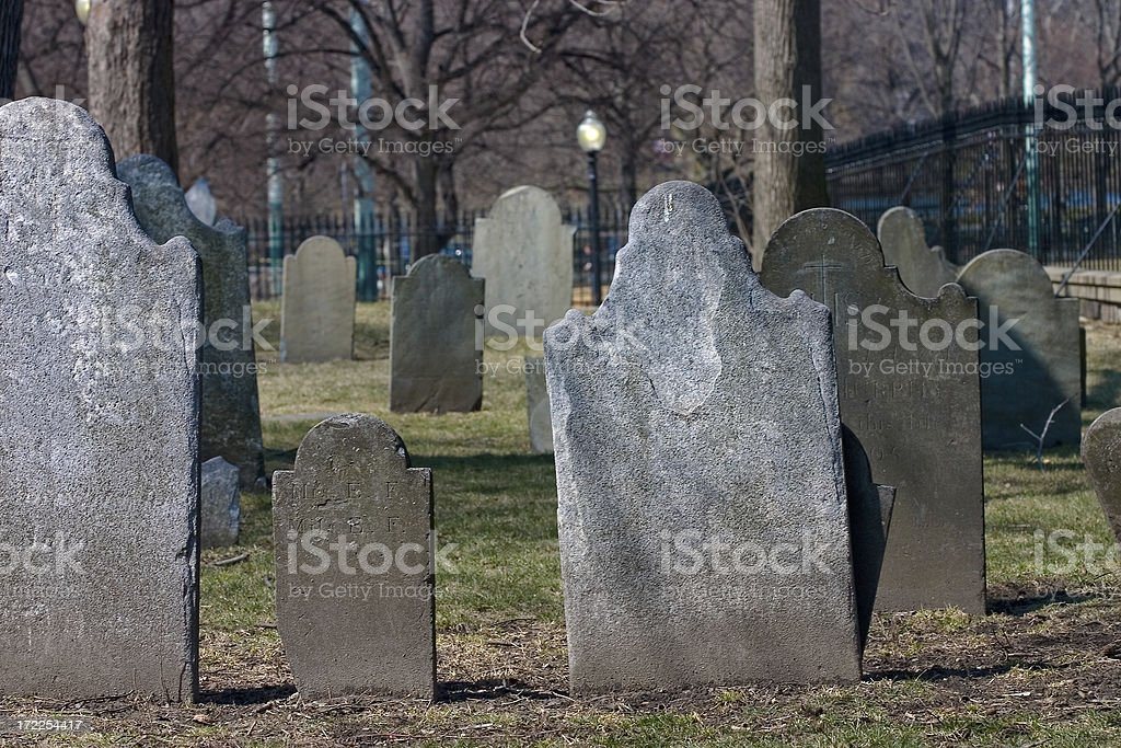 historic cemetery royalty-free stock photo