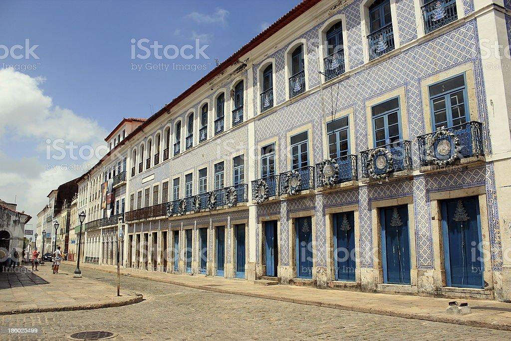 Historic center of São Luís - Brazil stock photo